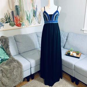 Gianni Bini Embroidered Maxi Dress